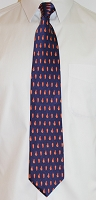 Silk Chicken Wing Necktie