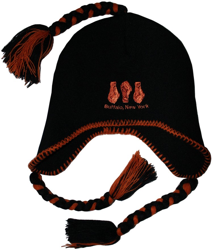 Buffalo Chicken Wing Tassel Hat
